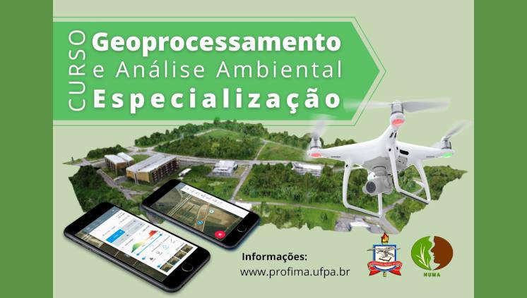 Vem aí a Especialização EAD em Geoprocessamento e Análise Ambiental